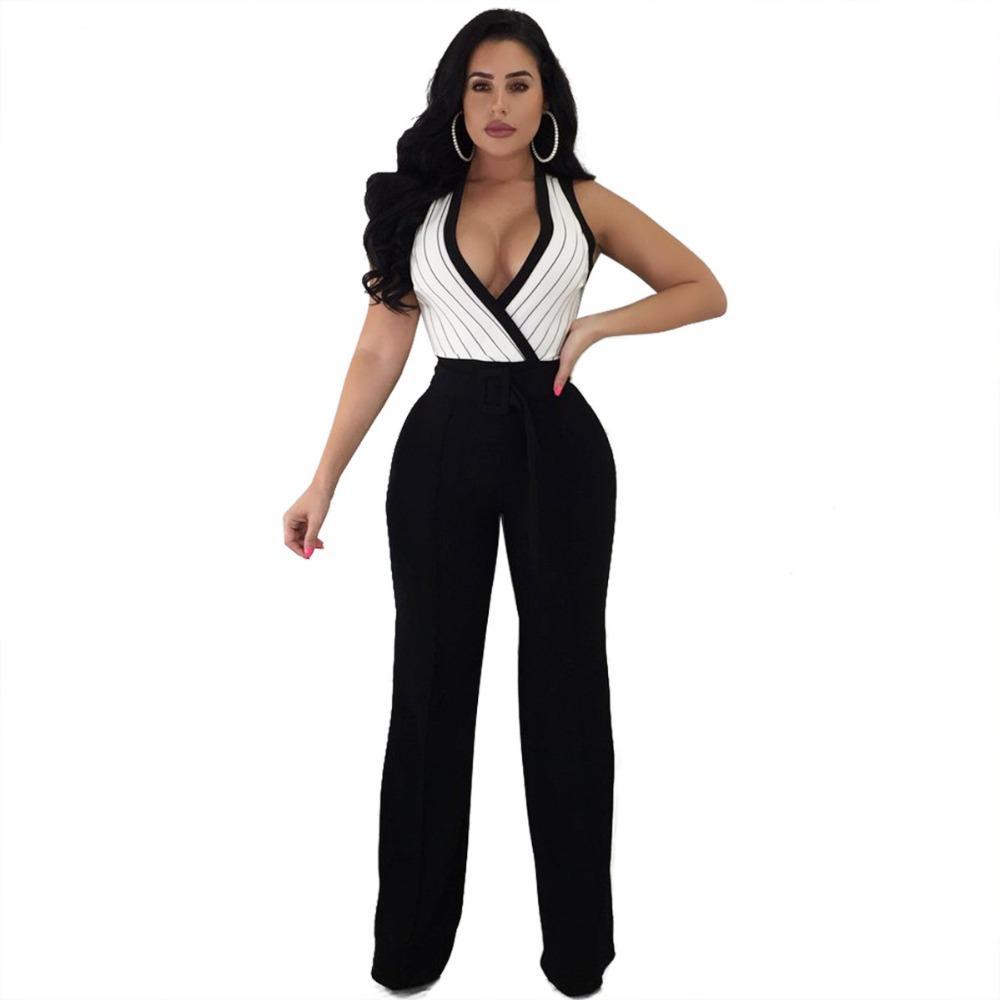 Femmes Clubwear V Neck Combi Bodycon Jumpsuit /& pantalon shorts barboteuse