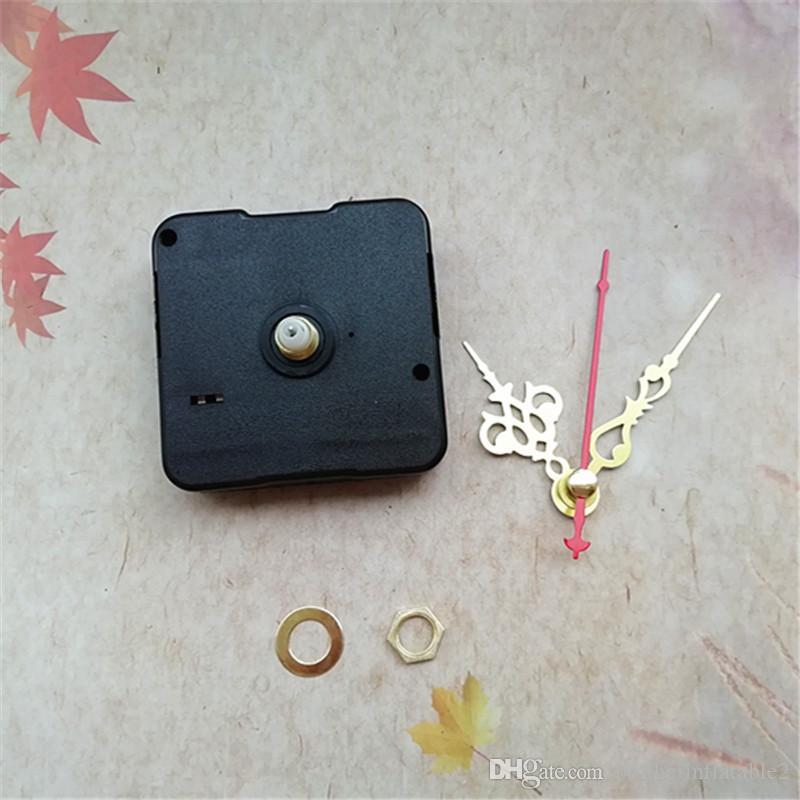 الجملة 50 قطع الاجتياح لا تيك آلية حركة كوارتز ساعة مع الأسلحة ل diy cd ساعة إصلاح الملحقات
