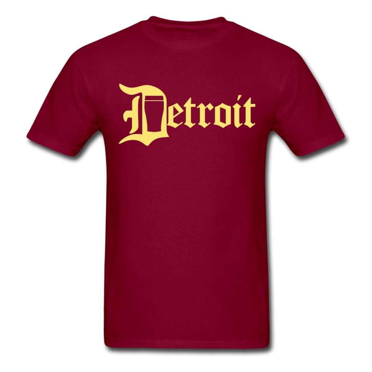 Detroit Pint City Cerveza Ropa Ropa Camiseta de los hombres Camiseta de algodón Camiseta de la manera Envío libre O cuello de la camiseta