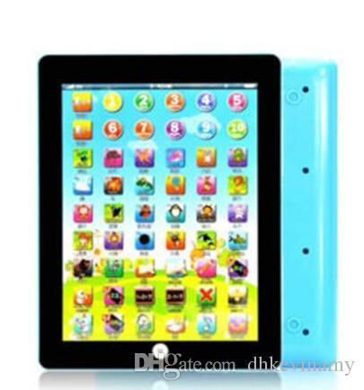 새 장난감 게임 태블릿 패드 영어 컴퓨터 노트북 패드 어린이 게임 음악 교육 크리스마스 전자 노트북