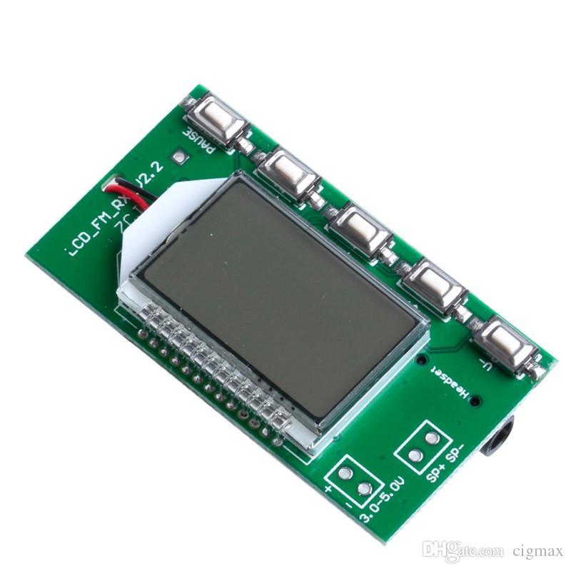 Nuevo receptor de radio FM estéreo digital dsp/&pll módulo 87-108 MHz si