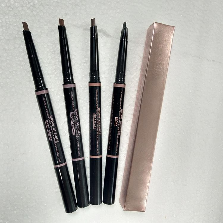 7477f7b90f MAKEUP Double eyebrow pencil BROW PENCIL CRAYON EBONY/SOFT BROWN/DARK BROWN  / MEDIUM BROWN/chocolate DHL Free shipping