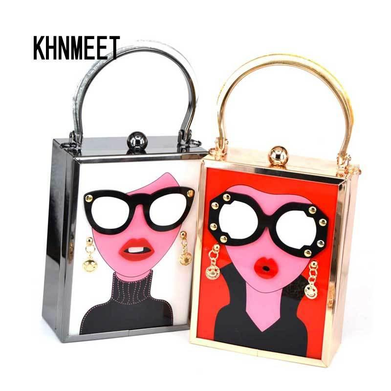 Novelty Colorful Abstract Painting Portable Evening Bags Clutch Pouch Purse Handbags Cell Phone Wrist Handbags For Womens