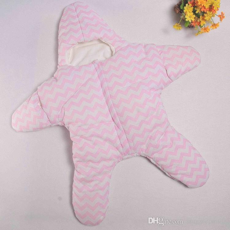 Sac de couchage chaud, étoile de mer, anti-coups, sac de couchage pour bébé, hors de l'enfant, tenir la voiture, couverture coupe-vent