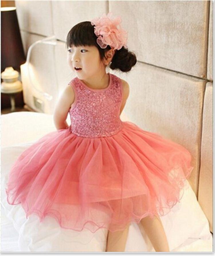 Compre Vestido Para Niñas Bebés Niños Vestidos Infantiles Para Niñas 3 4 5 6 7 8 Años Trajes De Cumpleaños Vestidos Fiesta De Noche Para Niñas Ropa