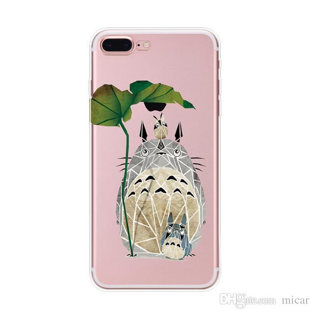 coque iphone 7 totoro transparant