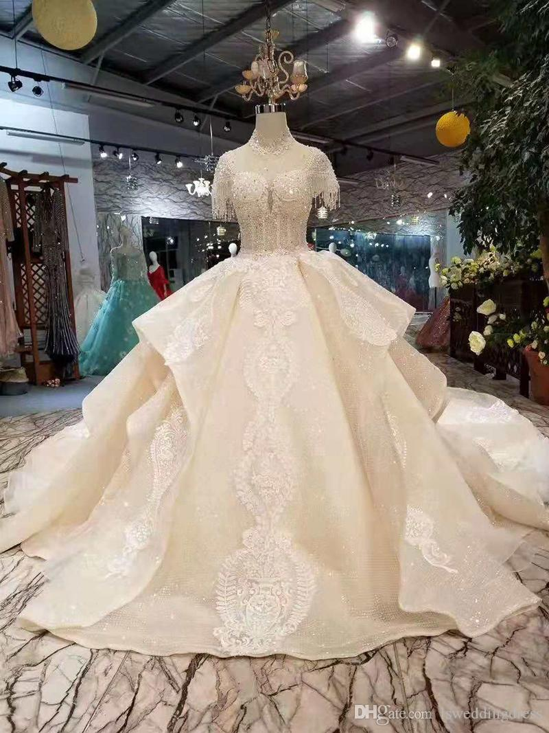 Champagne Elegant Wedding Dresses More