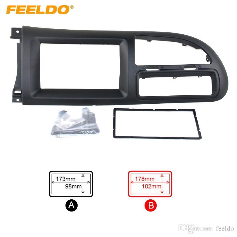 FEELDO Car CD Radio Stereo Fascia Panel Frame Adaptor Fitting Kit For Ford Transit(2014) #1415