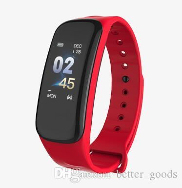 سوار الذكية اللون ضغط الدم الشاشة الذكية ووتش للماء للياقة البدنية المقتفي ساعة ذكية رصد معدل ضربات القلب ساعة اليد للحصول على الروبوت IOS