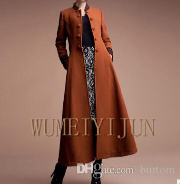 2019 2015 New Fashion Women Wool Jacket Long Trench Coat Ladies Winter Warm Coat Thick Clothing Plus Size Female From Burtom, $153.71 | DHgate.Com