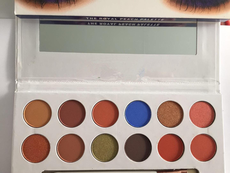 Envío gratis ePacket! 1 Unidades / Lote Nuevas Llegadas de maquillaje 12 paleta de sombra de ojos de color