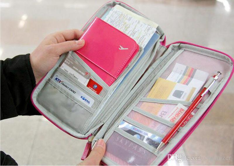 Cat Sign Gate Multi-purpose Travel Passport Set With Storage Bag Leather Passport Holder Passport Holder With Passport Holder Travel Wallet