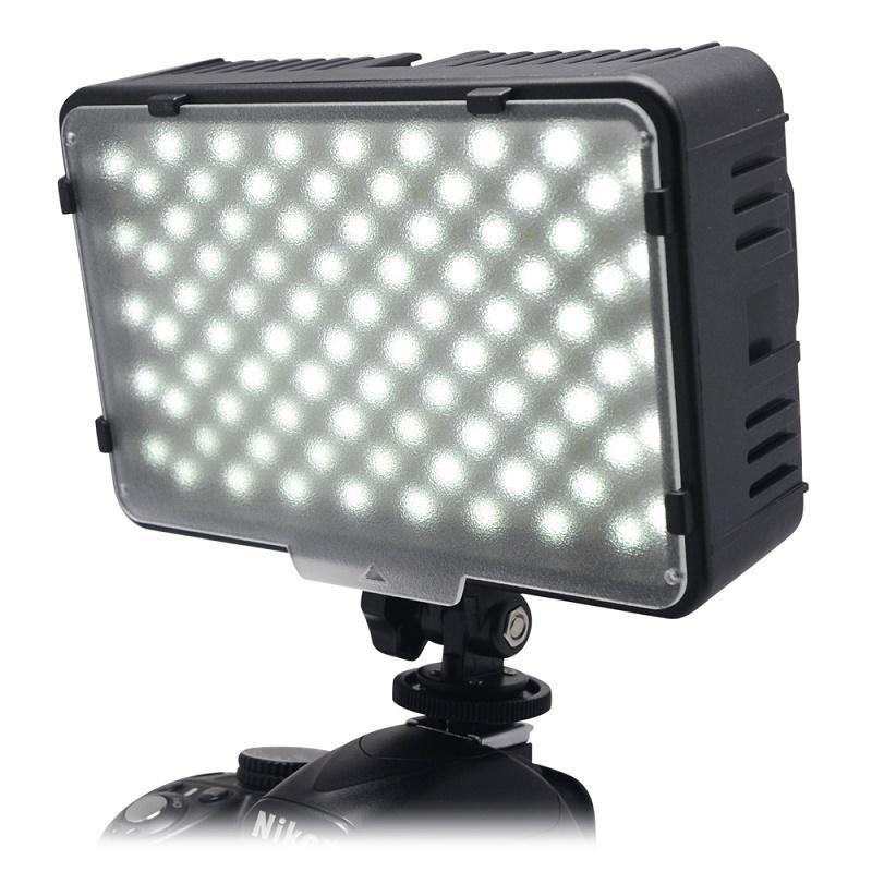 Mcoplus 168 LED Video Light On-Camera Photographic Photography Panel Lighting for Canon Nikon Sony DV Camera Camcorder VS CN-160