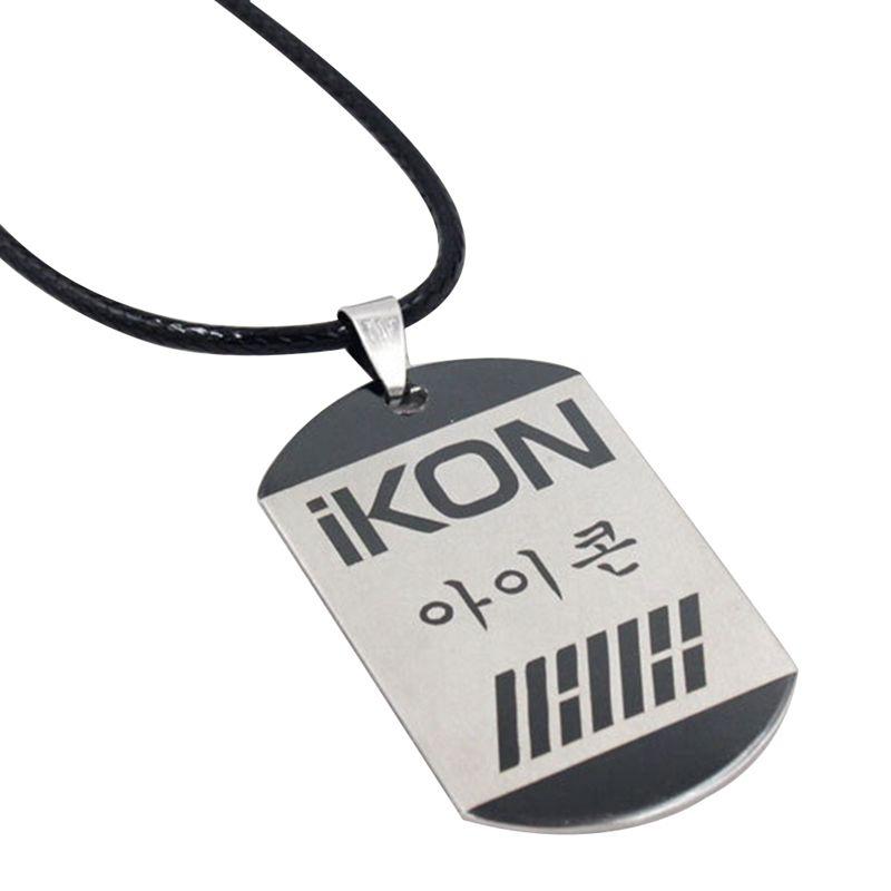 Kpop Hot studenti dintorni La stella gioielli popolare all'ingrosso coreano della stella della collana di IKON K- K Accessori