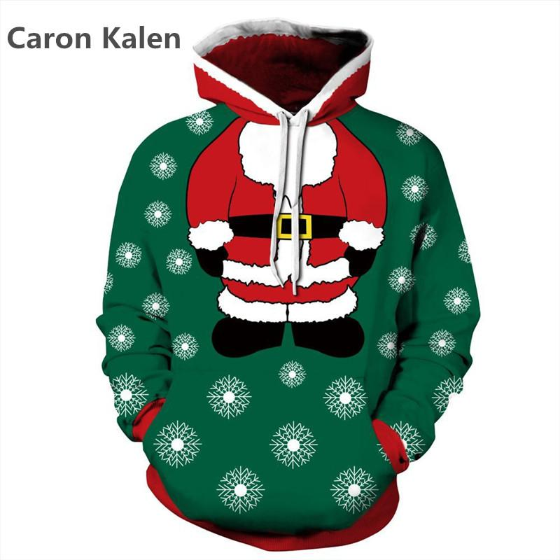 New Fashion 2017 Sweatshirts christmas Hoodies 3D Thin Style Men/Women Autumn Winter Tops 3d Hoodies Unisex Pullovers