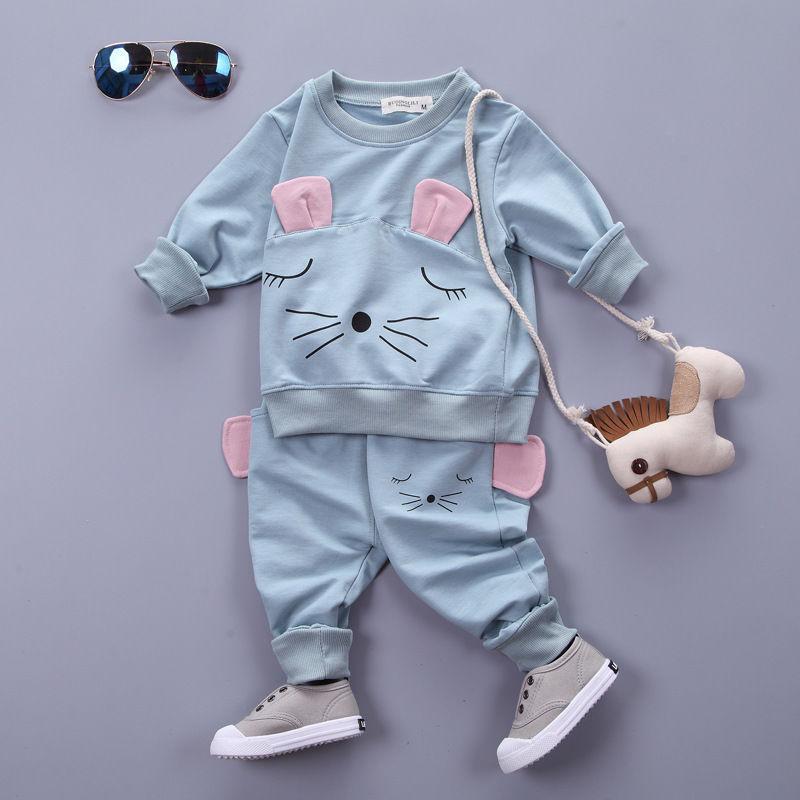 Roupa Crianças Conjuntos de manga comprida T-shirt + calças, Outono Crianças de Primavera Terno de esportes dos meninos roupas frete grátis