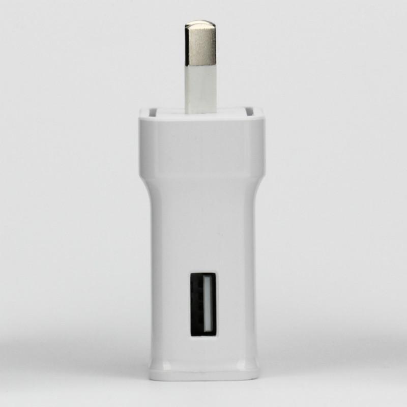 S6 AU Branchez Chargeur rapide rapide 2.0 9.0V 1.67A ou 5.0V 2A Accueil adaptateur mural Chargeur pour Samsung Galaxy Note 3 S6 s7 s8 50pcs / lot