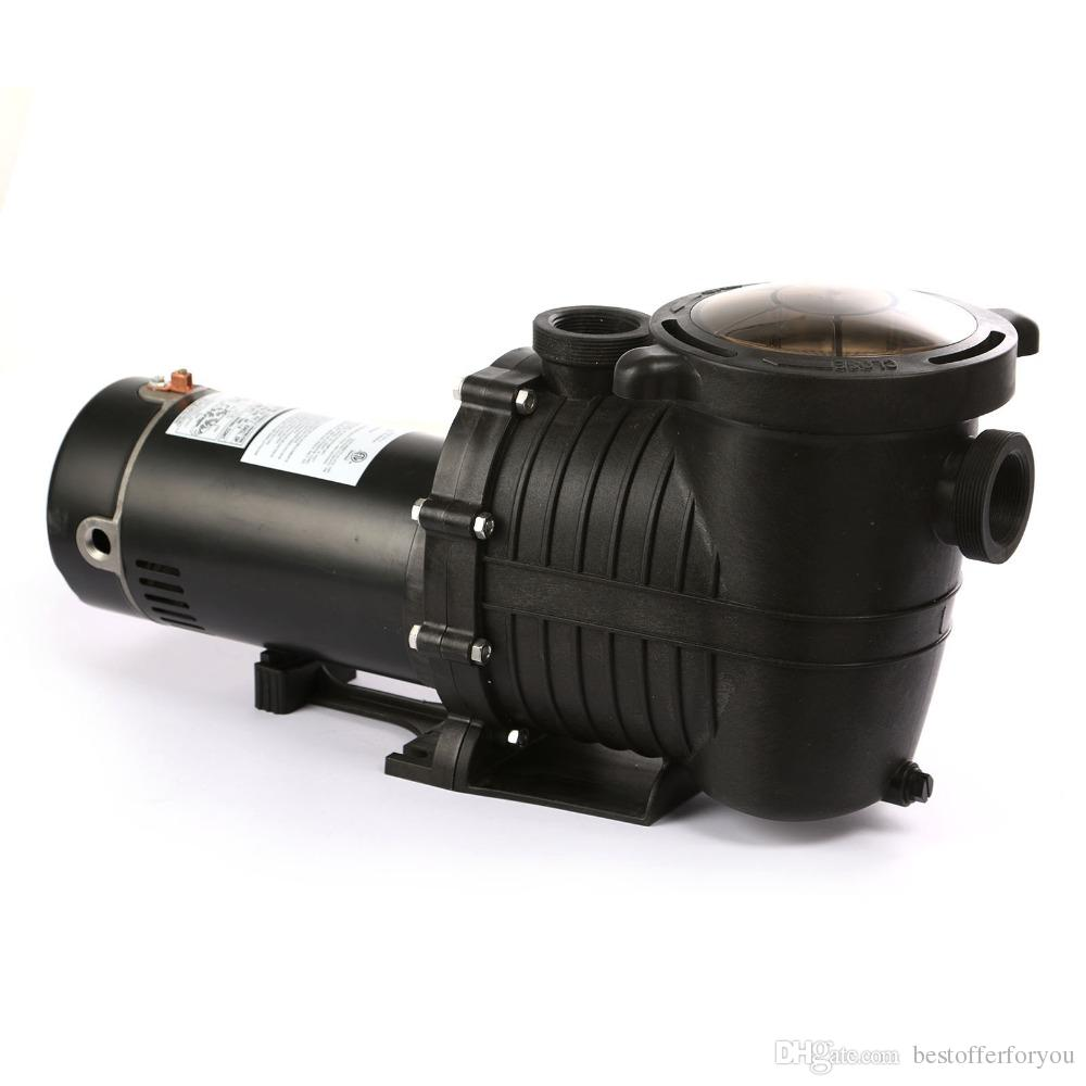 Swimming Pool Pump AMPS 15/7.5 88GPM 1.5HP Swimming SPA In Ground W/Strainer High Flo Motor