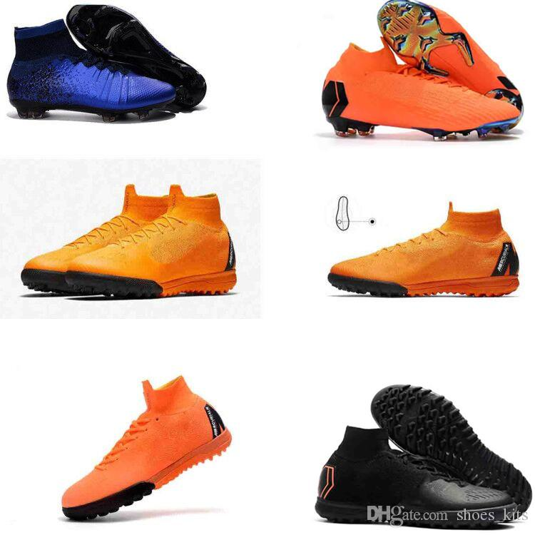brand new 1a9d9 d400d 2019 Mens CR7 Mercurial X EA SPORTS SuperflyX 6 Elite Soccer Shoes Magista  Obra Boys Soccer Cleats Women Football Boots Youth Cristiano Ronaldo From  ...