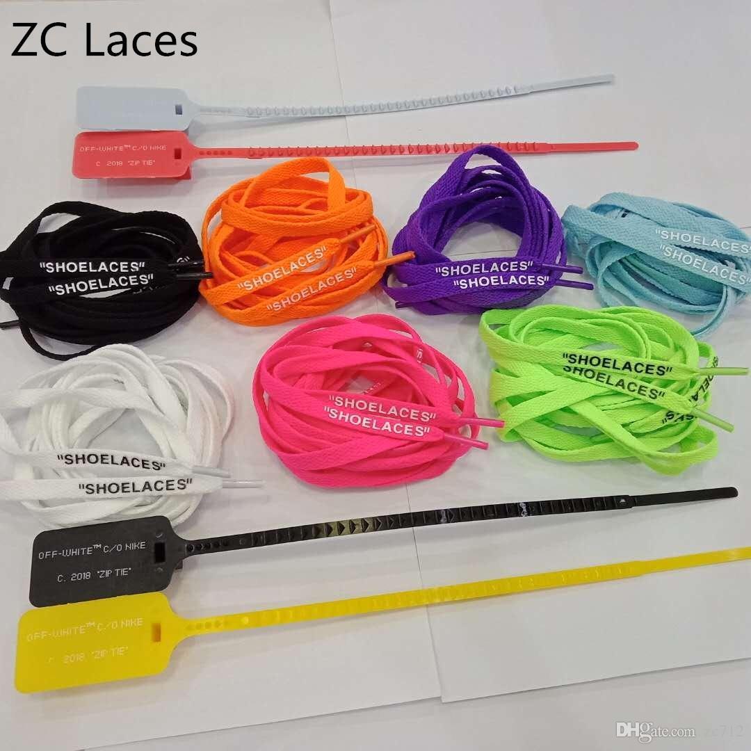 """MAĞAZALAR Düz Kravatlar Ile Zip Kravat Kırmızı Kayış Renkli Etiket Plastik Kapalı Ayakkabı Silikon Baskı Ayakabı Ucuz Özel 4 Renk in 54 """"/ 137 cm"""