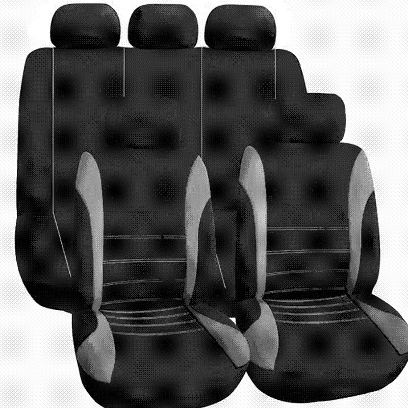 AUTOYOUTH Full Set of Car Seat Cover Car Protector Car Seat Decoration Beige