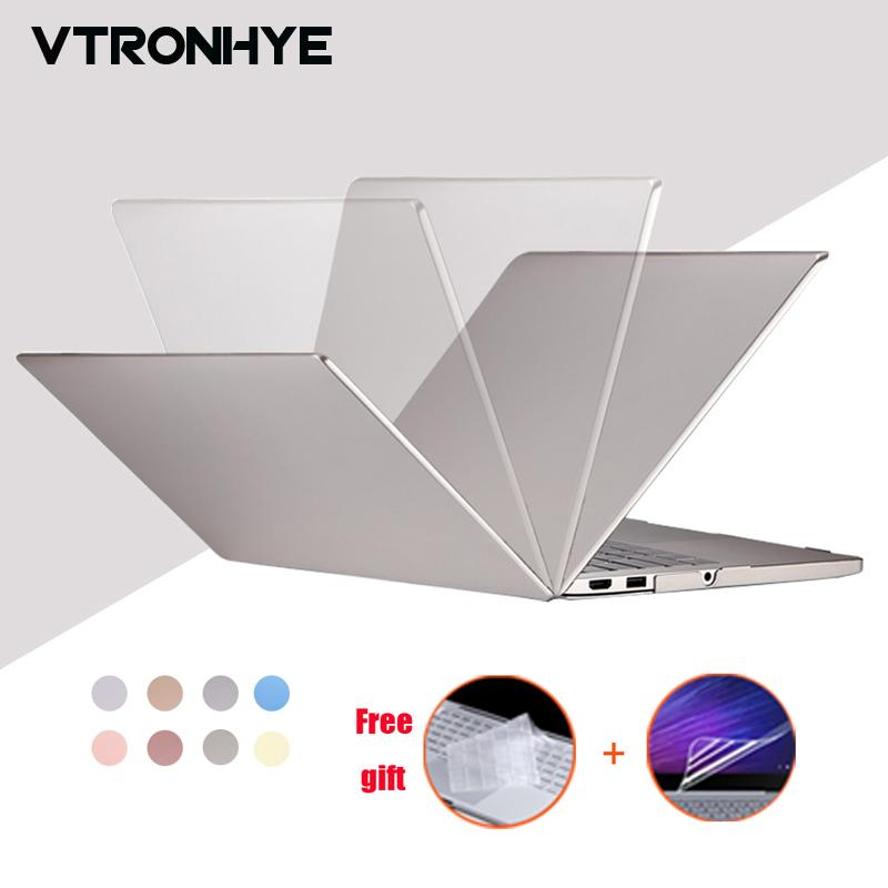 "VTRONHYE Case for Xiaomi Notebook Mi Air 12.5"" 13.3"" PC Hard Laptop Shell for funda Xiaomi Mi Air 12 13+keyboard cover+film"