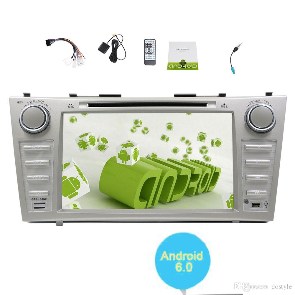 Vehicles for TOYOTA CAMRY (2007-2012) Car DVD Player Android 6.0 Quad-core System Car Stereo GPS Navigation In Dash Bluetooth Car Radio WiFi