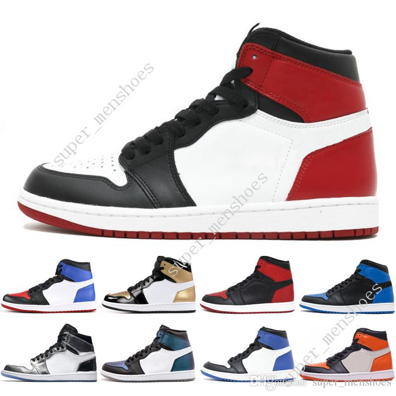 1s OG 1 top 3 mens basketball shoes Homage To Home Banned Bred Toe Black White Chicago Game Royal Blue Fragment men sport sneakers WOMENS