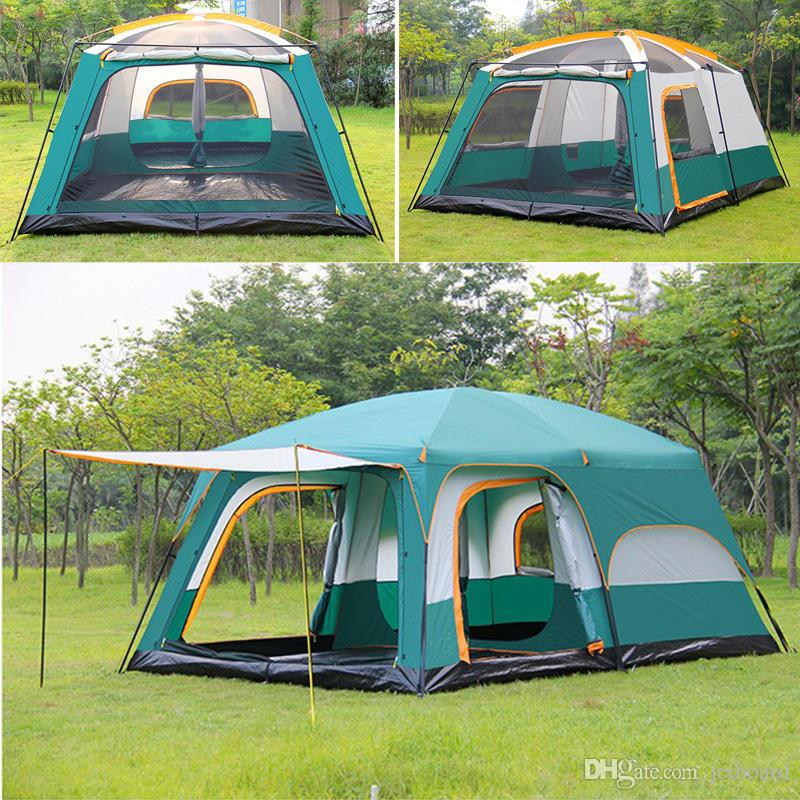 promo code 017ef f7f9b Outdoor 10 12 People Large Outdoor Camping Tent Waterproof ...