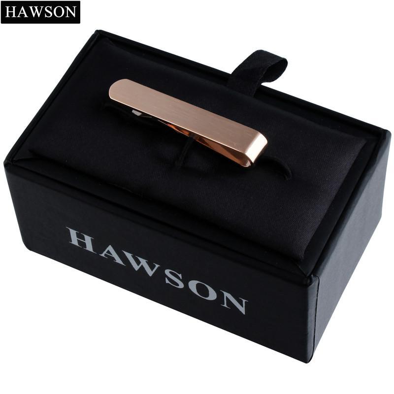 HAWSON Argent/é Pince /à Cravate pour Homme Pince /à Cravate Barre de Cravate Accessoires