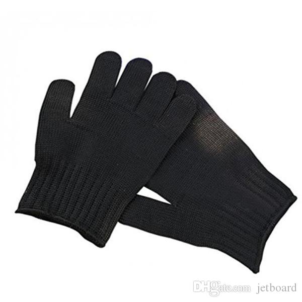 Wholesale 1 Pair Of 5 Level Anti-Cutting Gloves Stainless Steel Wire Safety Work Hands Protector Cut Proof