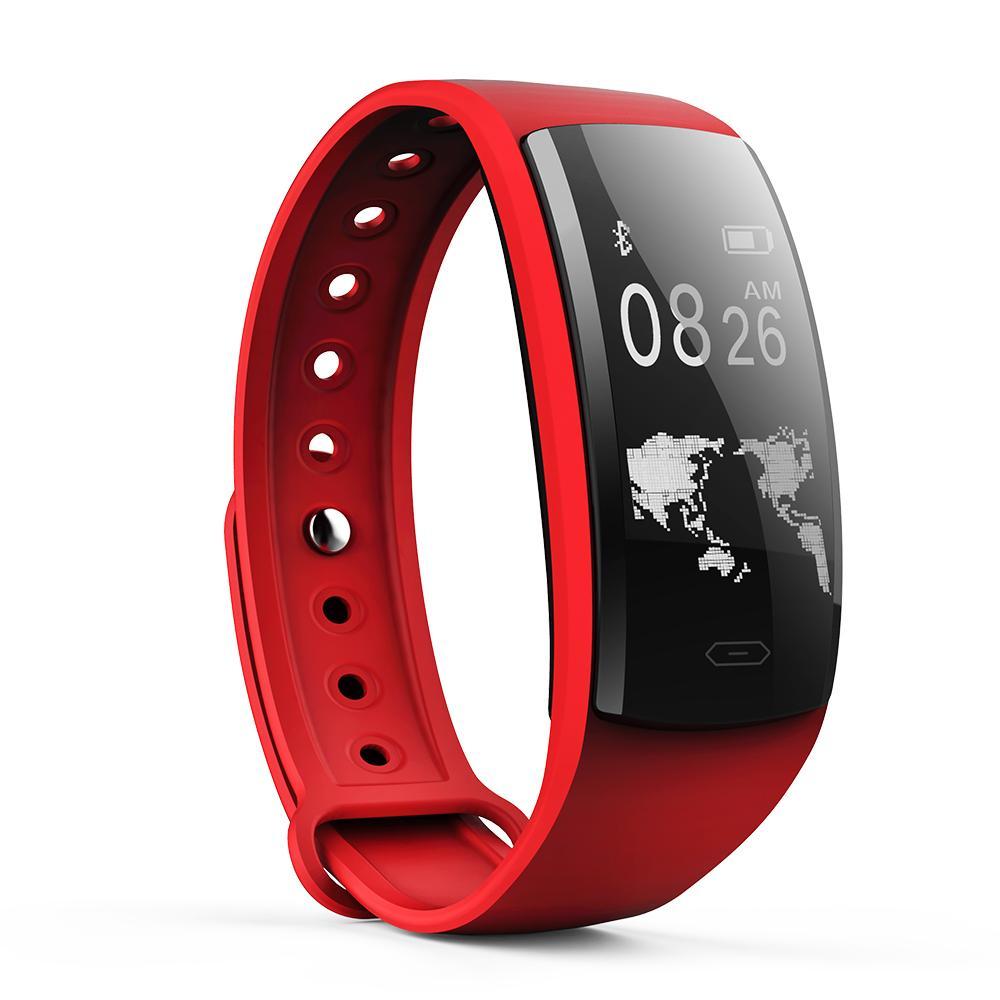 SOVO Smart Watch Mehrere Sport-Stoppuhrmodi Blutdruck-Armband OLED Touch QS90 Smartband für Android IOS