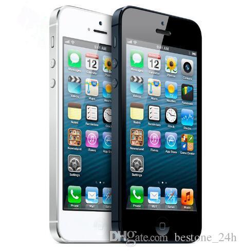 "Original Apple iPhone 5 Unlocked iOS Dual-core 4.0"" 8MP Camera WIFI GPS refurbished Phone"