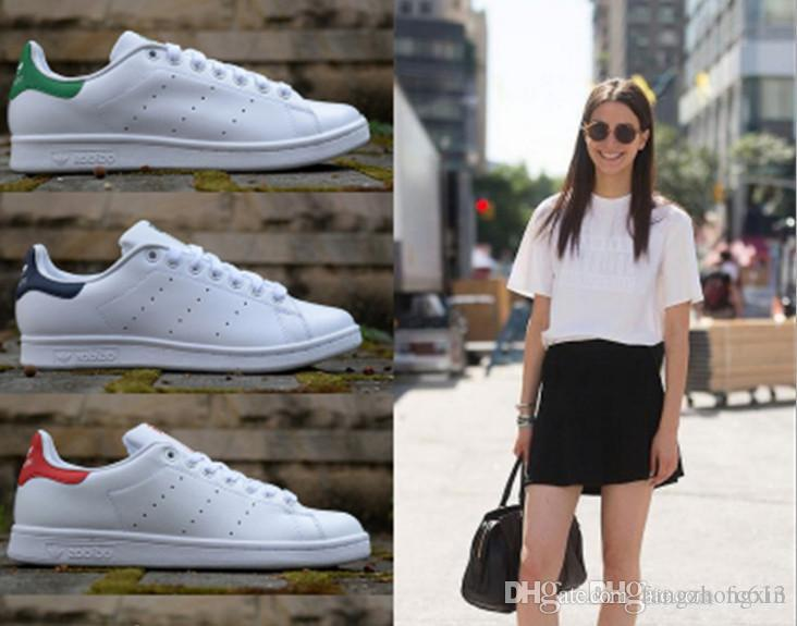 Unisex klasik Stan Smith rahat ayakkabılar açık su geçirmez kaymaz düz kaykay ayakkabı açık kamp spor ayakkabı süperstar sneakers