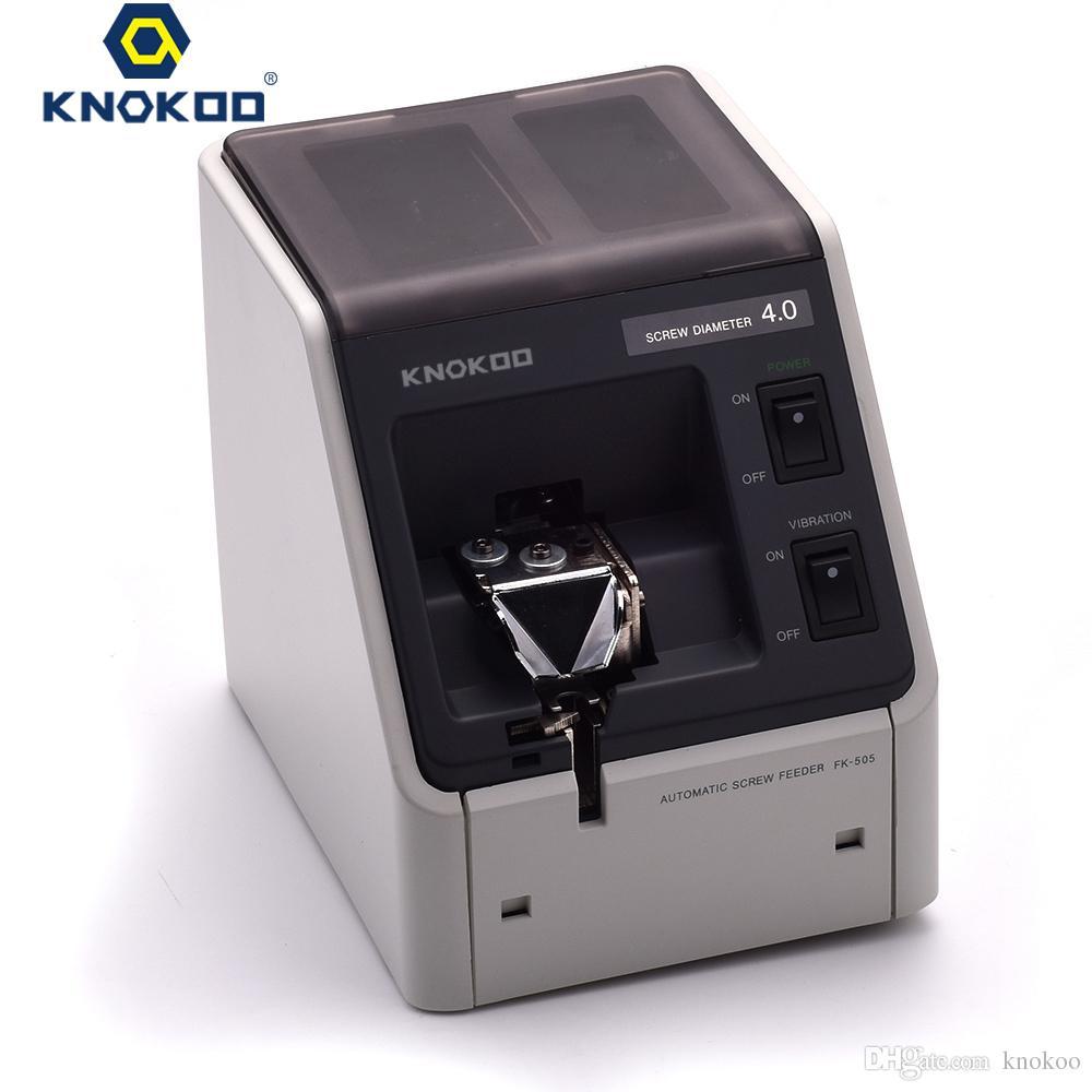 Knokoo Высокое качество Мини Автоматический Оже Шнековый питатель машины FK-540 для M4.0 винта