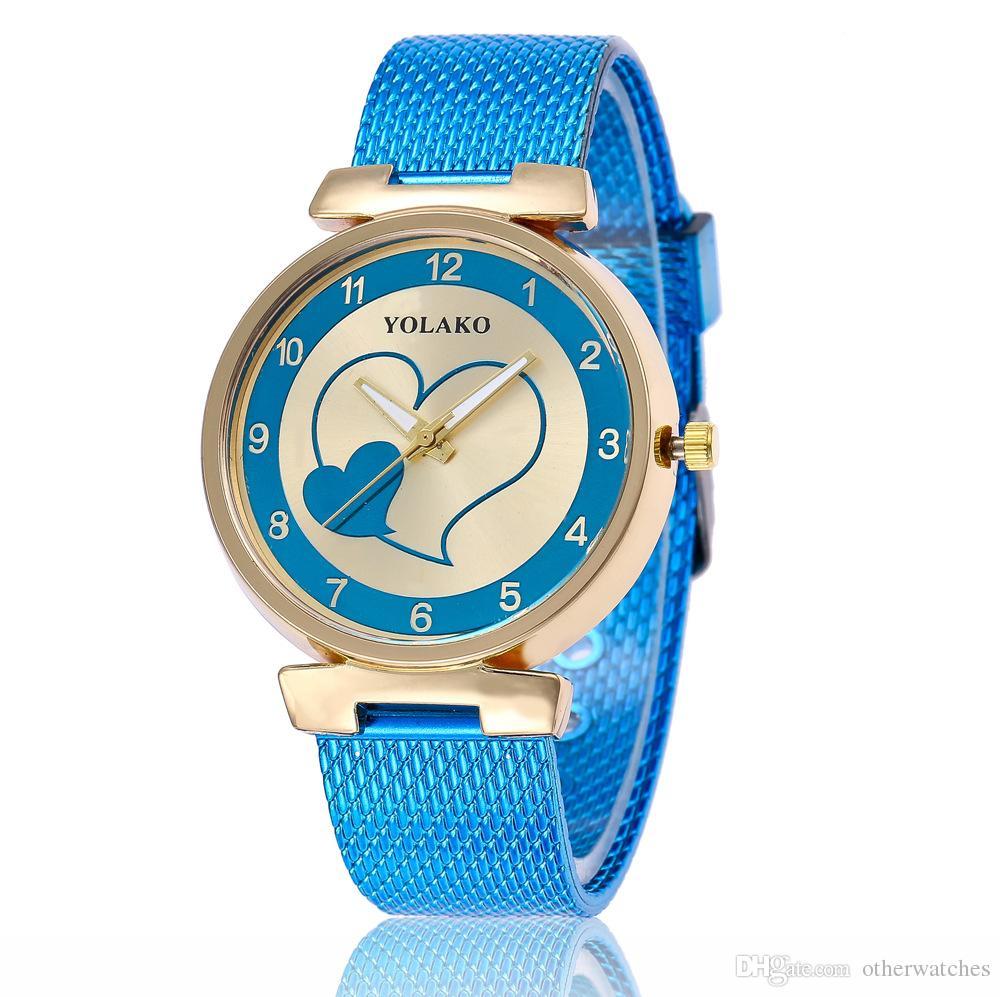 женские часы мода студент часы Наручные часы