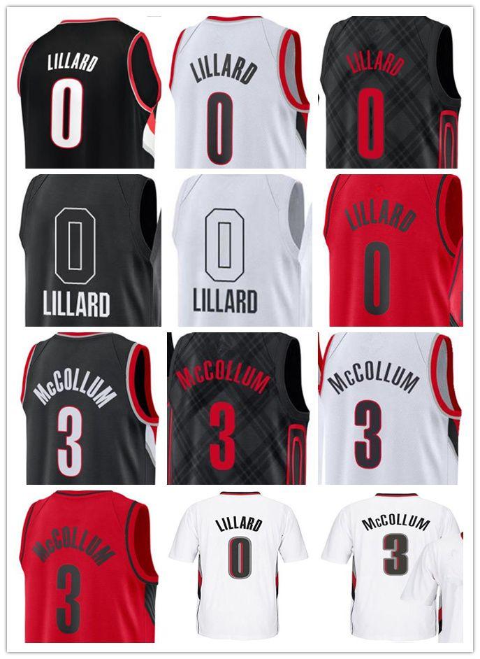 watch 4a7fb 14a82 2019 Men'S 2018 CITY EDITION 0 Damian Lillard Jersey 3 CJ McCollum  Basketball Jerseys Embroidery Stitched Shirts From Jackyjerseys2018, $15.78  | ...