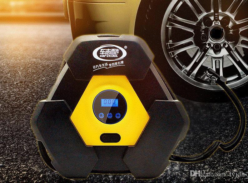 12V Portable Car Tire Digital Pump Air Compressor Tire Inflator 150PSI For Car Truck Bike