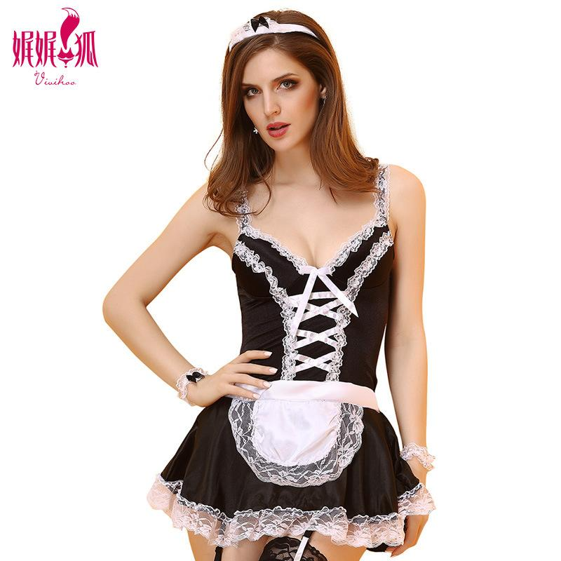 Maid fantasy Cosplay Clothing Set Maid Sexy Uniform Halloween Cosplay For Women Festival Clothing