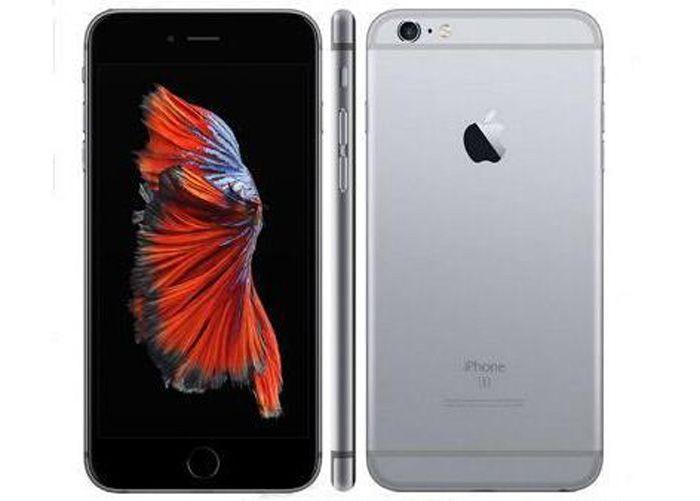 Redurbado Original Desbloqueado iPhone 6S Apple Teléfono Móvil 4G LTE 4.7 pulgadas iOS 2GB RAM 16GB / 32GB / 64GB / 128GB ROM THREPONE CELULAR
