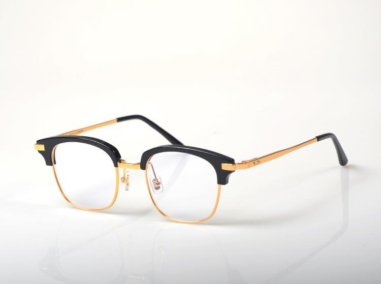 2018 لطيف ell h ماركة قصر النظر النظارات الإطار البصرية النساء الرجال الكمبيوتر نظارات نظارات نصف إطار واضح عدسة الإناث