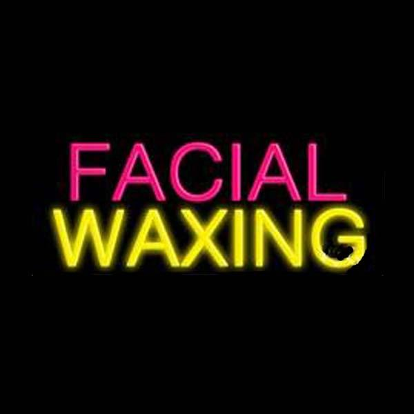 "Facial Waxing Beauty Salon Neon Sign Display Store Sign Gift Indoor Advertising Display Neon Signs Real Glass Tube 17""X10"""