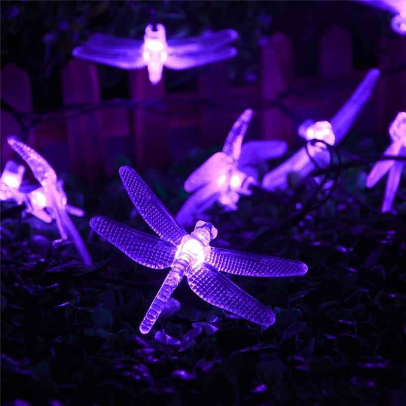 lederTEK Christmas Solar String Lights 19.7ft 6m 30 LED (7)