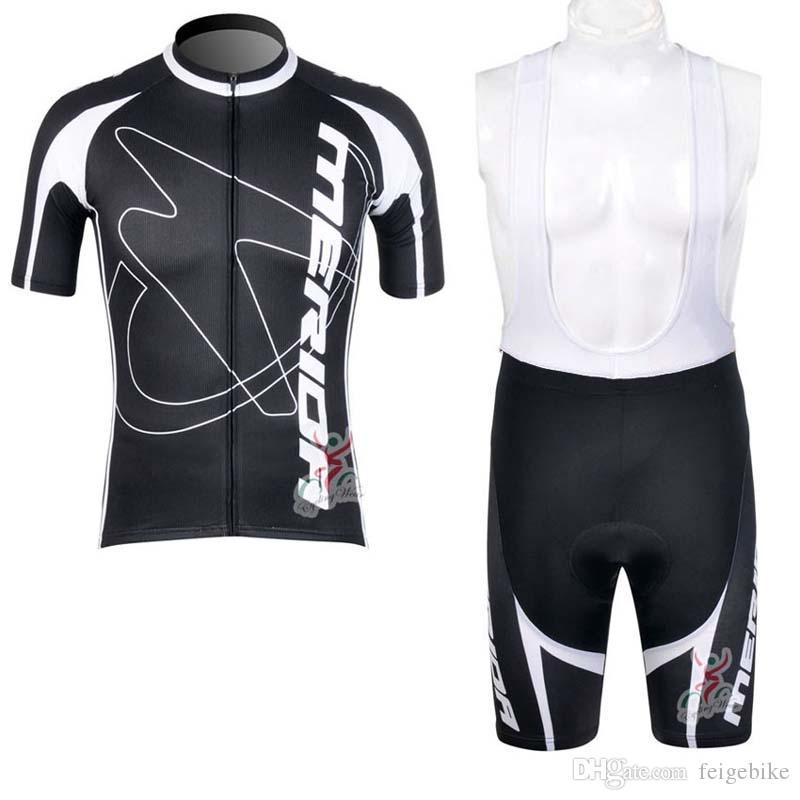 Merida Takımı Bisiklet Kısa Kollu Jersey Önlüğü Şort Setleri Yaz Erkek Rahat Giyilebilir Açık Spor Jersey 32765