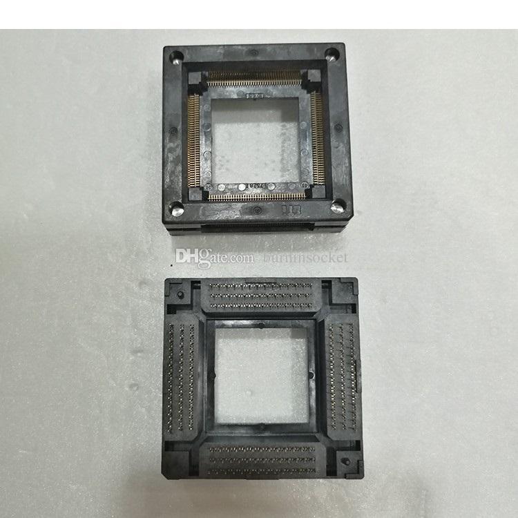 Wells-cti IC Test Soketi 7328-160-1-08 QFP160P 0.65mm Pitch 28x28mm sokette yakmak