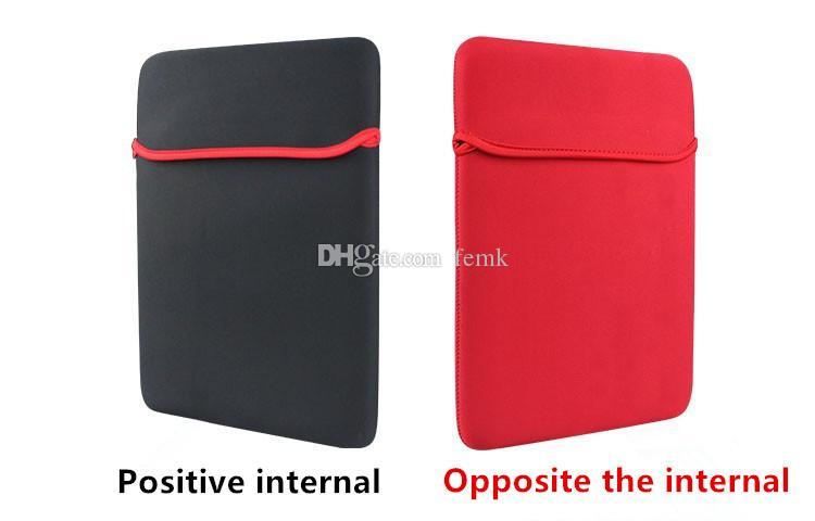 """Laptop Pouch Protective Bag Neoprene Soft Sleeve Case Bag for 7"""" 10"""" 12"""" 13"""" GPS Tablet PC Notebook Ipad 7-15 inch"""