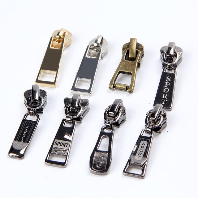 los Reißverschluss Reparatur Kit Kleidung Metall lange ziehen 9 teile