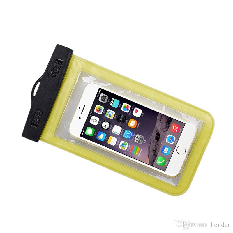 For Samsung ON7 prime waterproof bag Waterproof Case Bag PVC Protective Universal Phone Case bag swimming hot spring cellphone pouch