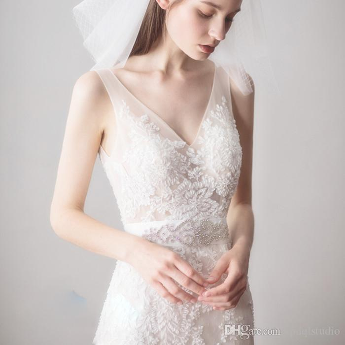 Stunning Wedding Sashes New Arrival Ivory Bridal Sashes Wedding Belts Wedding Accessories Long Free Shipping