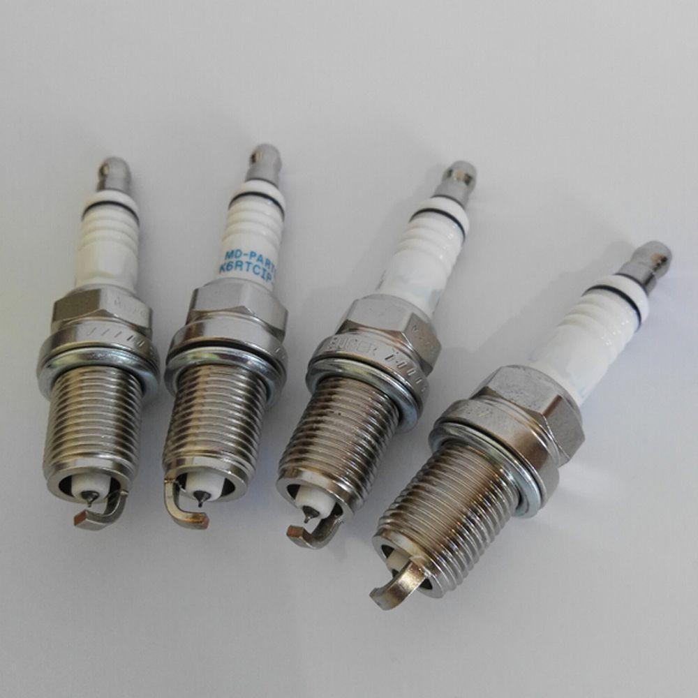 Iridium Platinum alloy Spark plug Velas del coche para Audi q7 a8 a3 q5 a4 4.2l 1.8T 2.0T engine ignition